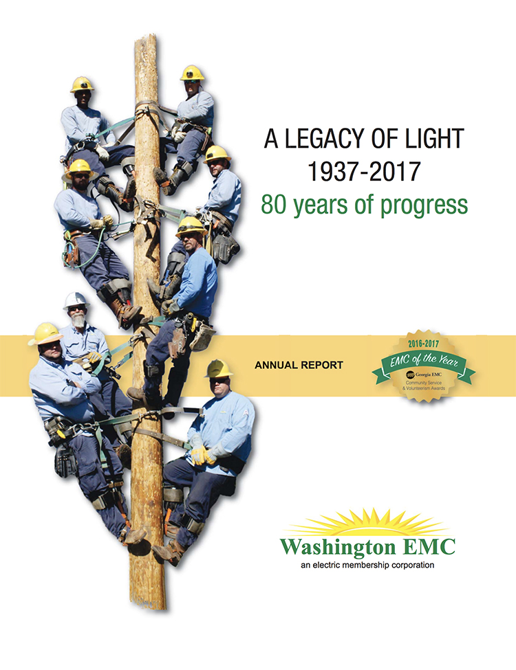 Washington EMC Annual Report Cover Image